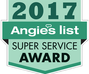 The Woodlands Heating and Air Conditioning Earns Esteemed 2017 Angie's List Super Service Award