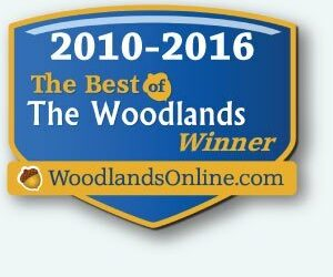 We are Best of The Woodlands seven years in a row!