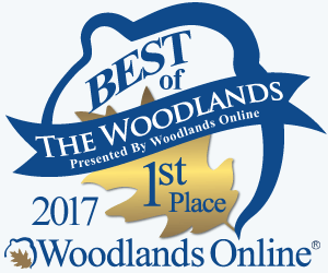 First place in the 2017 Best of The Woodlands Award