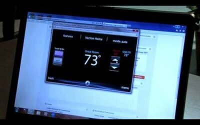 Learning the new Infinity Touch thermostat control