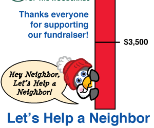 Let's Help a Neighbor Fund Drive