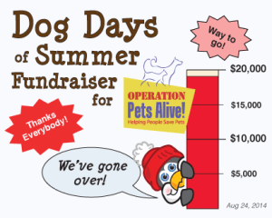 Dog Days of Summer 2014 Fundraiser for Operation Pets Alive!
